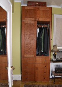 Armoire with Suitcase