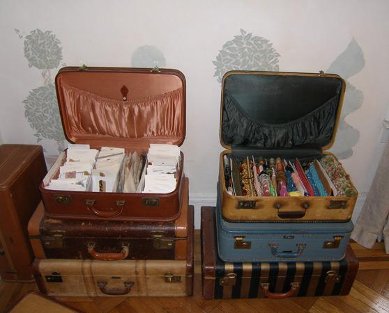 Suitcase Storage & Suitcase Storage | Mary Olive Design